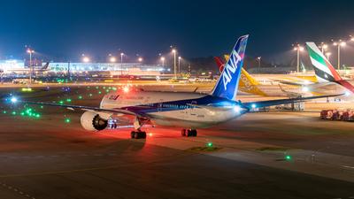 JA814A - Boeing 787-8 Dreamliner - All Nippon Airways (Air Japan)