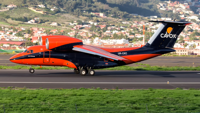UR-CKC - Antonov An-74TK-100 - Cavok Air