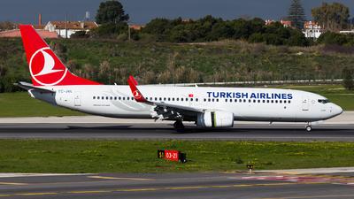 TC-JVL - Boeing 737-8F2 - Turkish Airlines