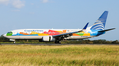 HP-1825CMP - Boeing 737-8V3 - Copa Airlines