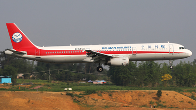 B-6590 - Airbus A321-231 - Sichuan Airlines