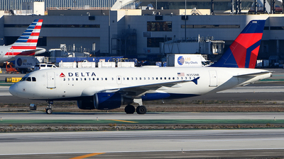 A picture of N355NB - Airbus A319114 - Delta Air Lines - © Rocky Wang