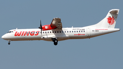 PK-WHH - ATR 72-212A(600) - Wings Air