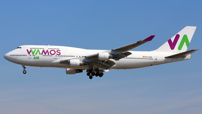 EC-KXN - Boeing 747-4H6 - Wamos Air