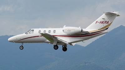 F-HKRA - Cessna 525 CitationJet 1 Plus - Private