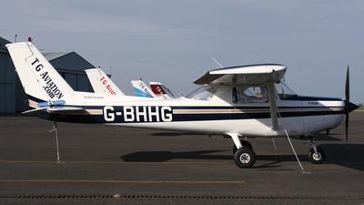 G-BHHG - Reims-Cessna F152 II - TG Aviation