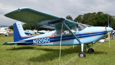 A picture of N2206C - Cessna 180 - [30506] - © Ton Peterbroers