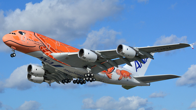 F-WWAL - Airbus A380-841 - All Nippon Airways (ANA)
