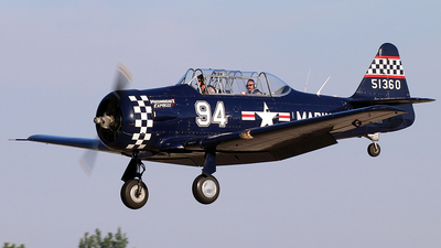 N694US - North American SNJ-4 Texan - Private