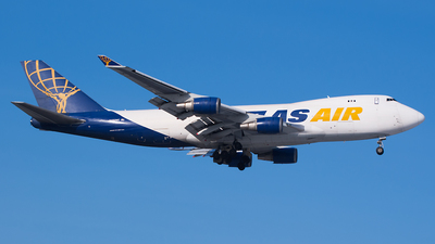 N492MC - Boeing 747-47U(F) - Atlas Air