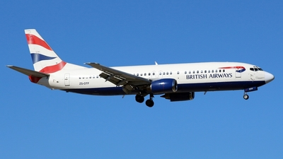 ZS-OTF - Boeing 737-436 - British Airways