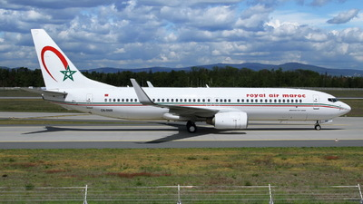 A picture of CNRNW - Boeing 7378B6 - Royal Air Maroc - © Sybille Petersen