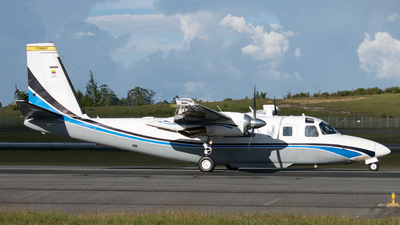 FAC-5553 - Aero Commander 690 - Colombia - Air Force