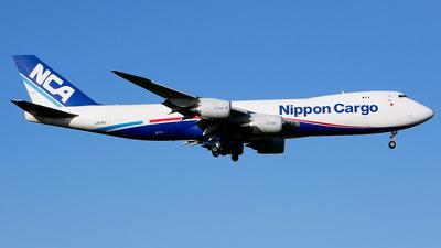 A picture of JA17KZ - Boeing 7478KZ(F) - Nippon Cargo Airlines - © Shogo Kawai