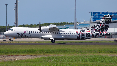 A picture of P2ATD - ATR 72600 - PNG Air - © Dave Parer