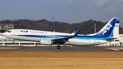 A picture of JA82AN - Boeing 737881 - All Nippon Airways - © Koki.Ishida