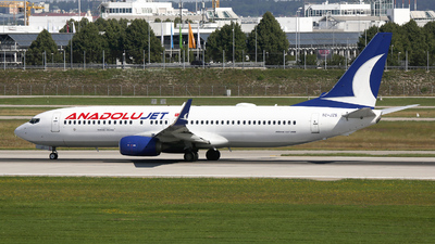 TC-JZS - Boeing 737-8JP - AnadoluJet