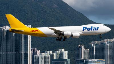 A picture of N853GT - Boeing 74787U(F) - DHL - © Anthony Chau