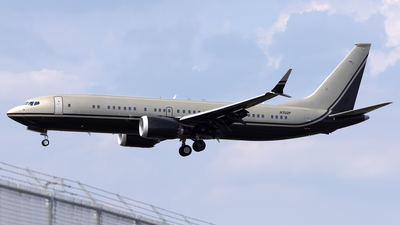 N702F - Boeing 737-8 MAX BBJ - Private