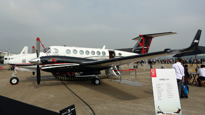 N871EU - Beechcraft B300 King Air 350i - Private
