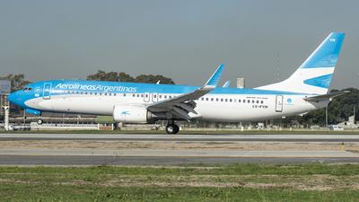 A picture of LVFVN - Boeing 7378SH - Aerolineas Argentinas - © Ezequiel Catalano