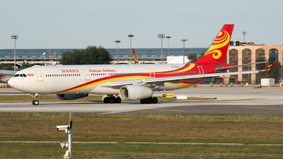 A picture of B303C - Airbus A330343 - Hainan Airlines - © 1219qiuda