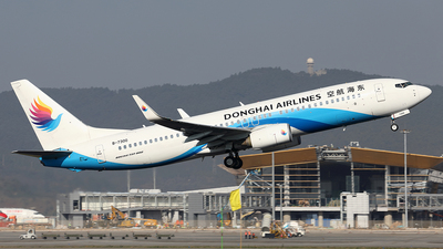 B-7300 - Boeing 737-83Z - Donghai Airlines