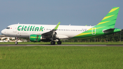 A picture of PKGQP - Airbus A320214 - Citilink - © Reza_spotter