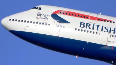 G-BNLZ - Boeing 747-436 - British Airways
