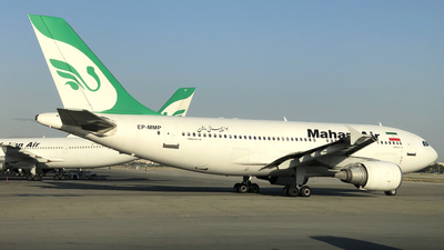 EP-MMP - Airbus A310-304 - Mahan Air