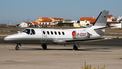 D-CCCF - Cessna 550 Citation II - CCF Manager Airline