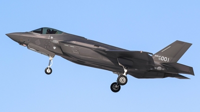 18-001 - Lockheed Martin F-35A Freedom Knight - South Korea - Air Force