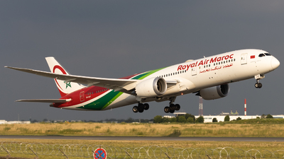 A picture of CNRGY - Boeing 7879 Dreamliner - Royal Air Maroc - © Alewx