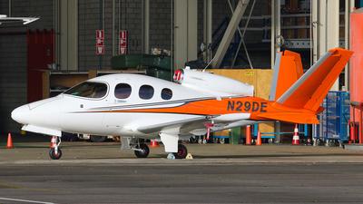 N29DE - Cirrus Vision SF50 - Private