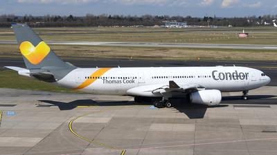 C-GTSZ - Airbus A330-243 - Condor (Air Transat)
