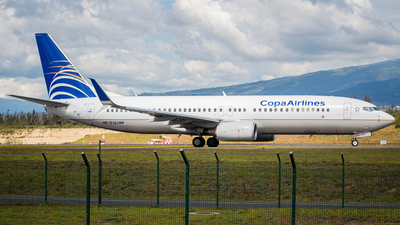 A picture of HP1716CMP - Boeing 7378V3 - Copa Airlines - © Martin Blanco