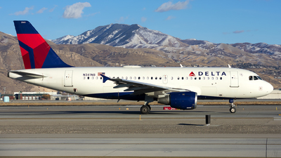 A picture of N341NB - Airbus A319114 - Delta Air Lines - © Michael Rodeback