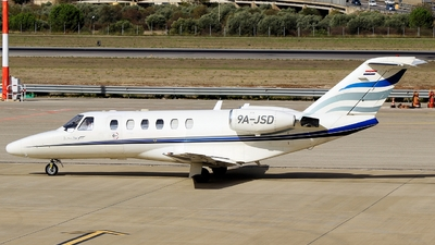 A picture of 9AJSD - Cessna 525 CitationJet CJ1 -  - © Pampillonia Francesco - Plane Spotters Bari