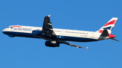 G-EUXK - Airbus A321-231 - British Airways