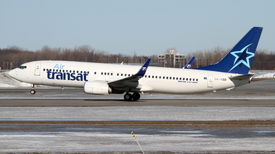 OK-TSD - Boeing 737-8Q8 - Air Transat (Travel Service)