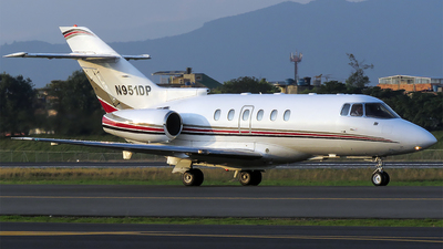 N951DP - Hawker Beechcraft 800XP - Private