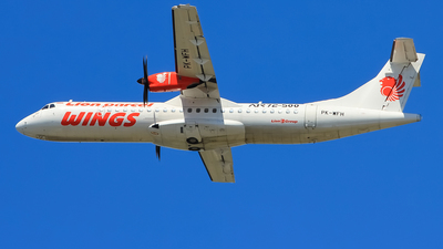 PK-WFH - ATR 72-212A(500) - Wings Air