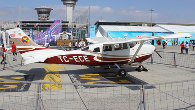 TC-ECE - Cessna T206H Stationair TC - Turkey - Turkish Aeronautical Association