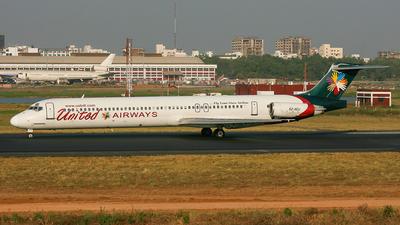 S2-AEU - McDonnell Douglas MD-83 - United Airways