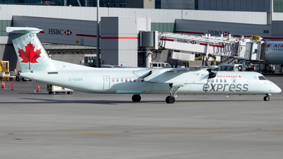 C-GGAH - Bombardier Dash 8-Q402 - Air Canada Express (Jazz Aviation)