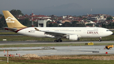 5A-LAT - Airbus A330-202 - Libyan Arab Airlines