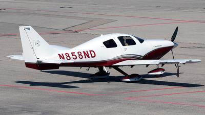 N858ND - Lancair LC41-550FG Columbia 400 - Private