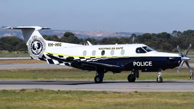 VH-HIG - Pilatus PC-12/47 - State of South Australia