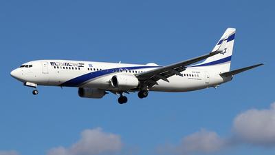 A picture of 4XEHF - Boeing 737958(ER) - El Al - © Ferenc Kolos