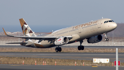A6-AEJ - Airbus A321-231 - Etihad Airways